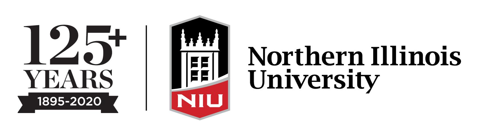 NIU 125th Anniversary logo
