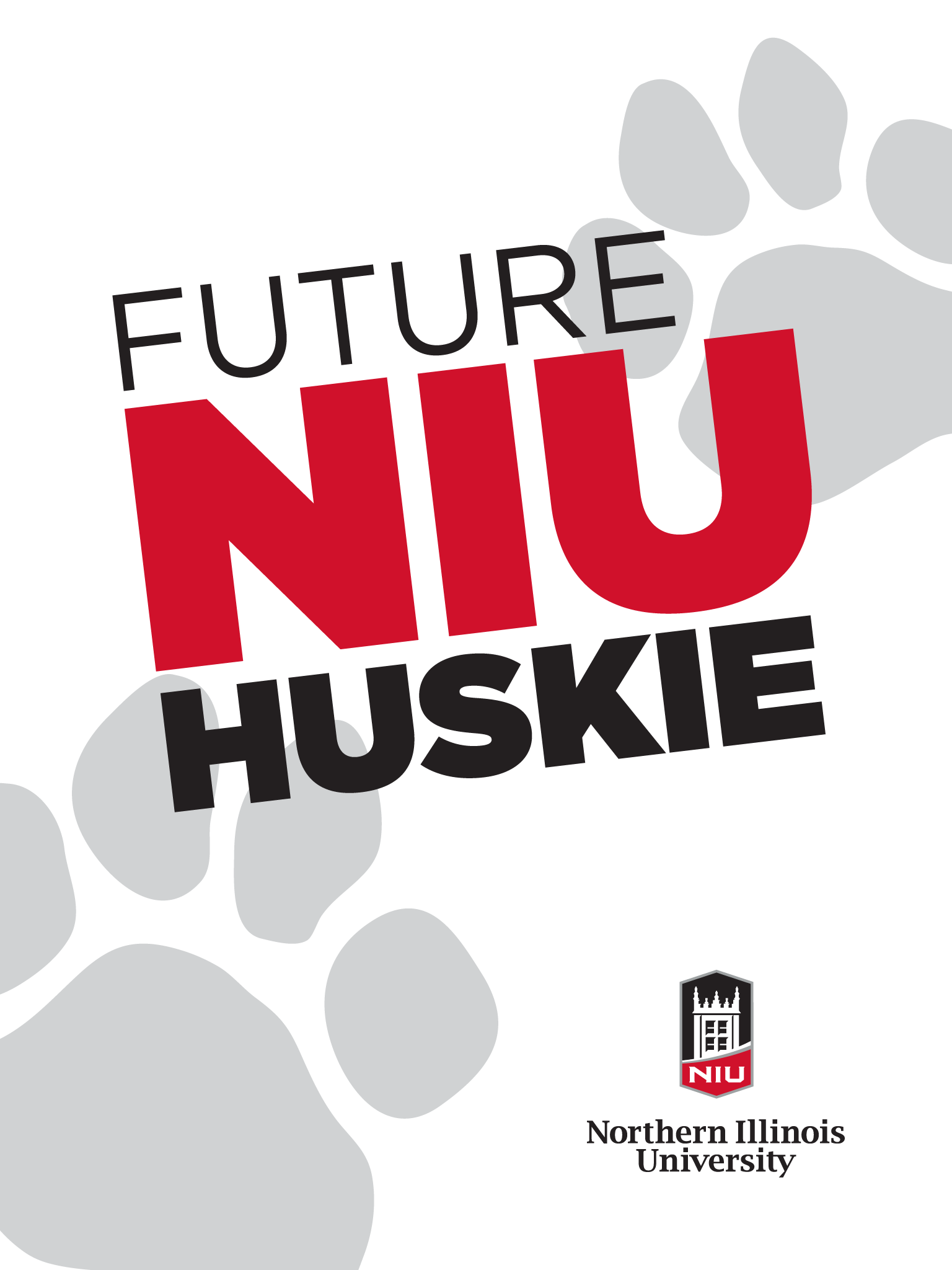 Future Huskie - white for iPad