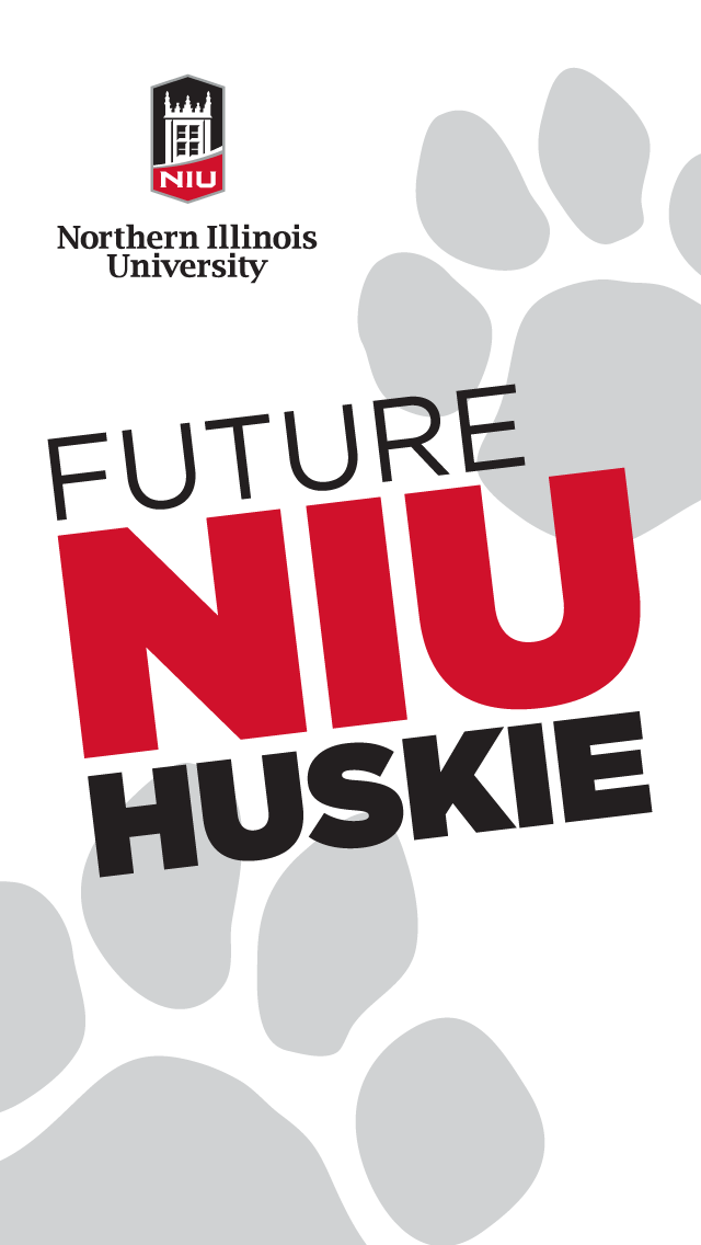 Future Huskie - white for iphone