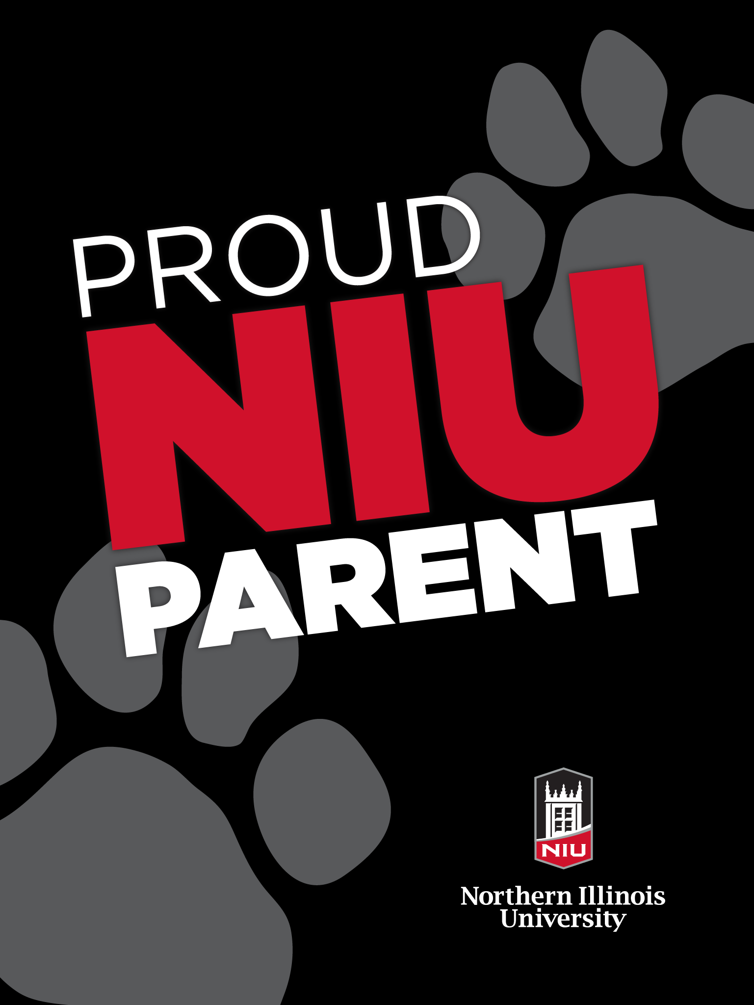 Huskie Parent - Black for iPad