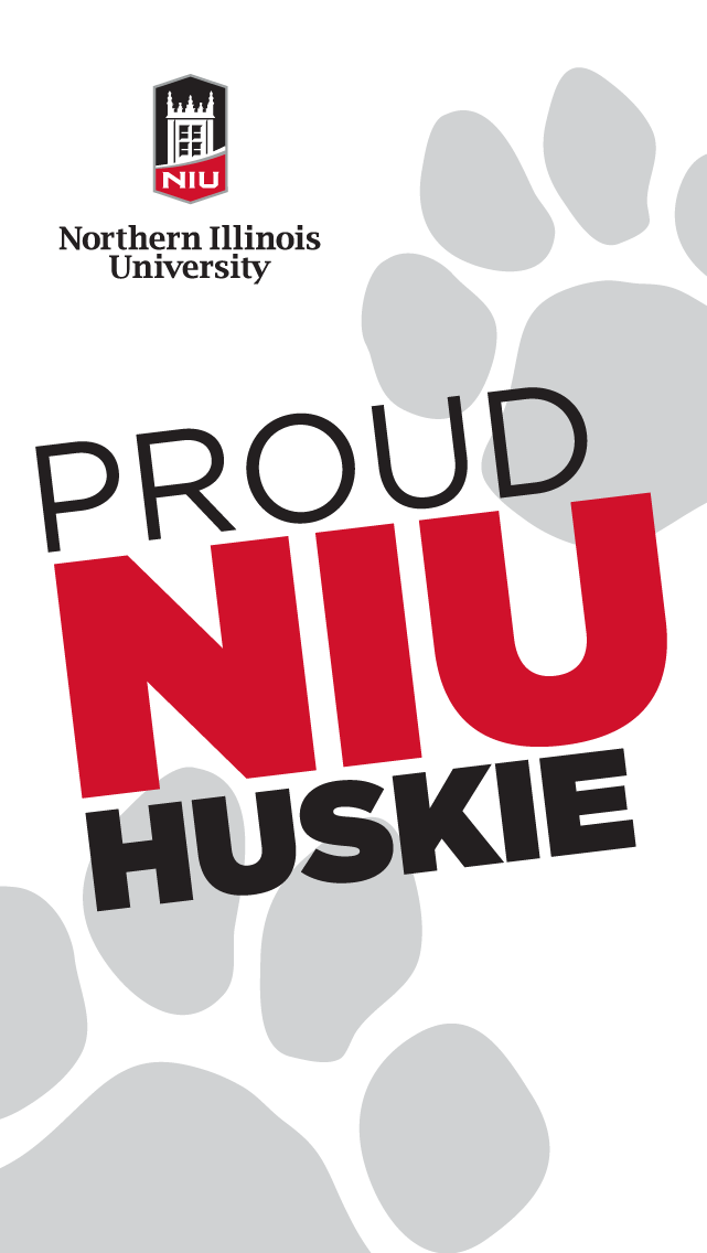Proud Huskie - white for iphone