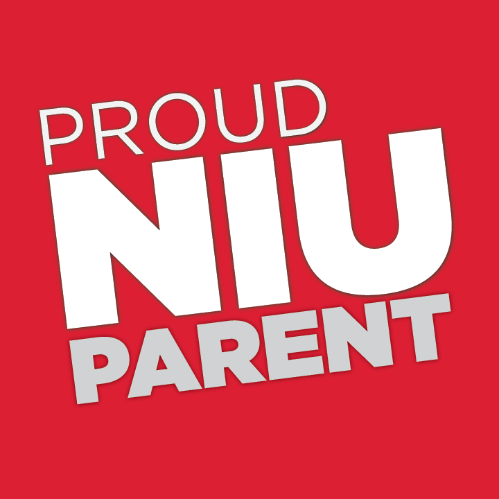 Proud Huskie Parent - Red for Profile