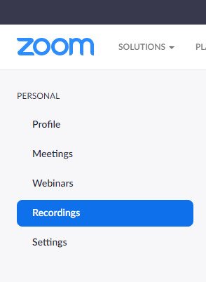 Zoom Cloud Step 2