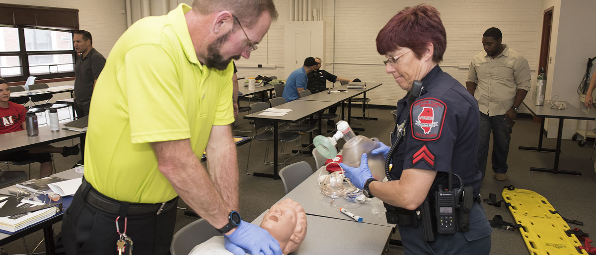 Cprfirst Aid Niu Department Of Police And Public Safety