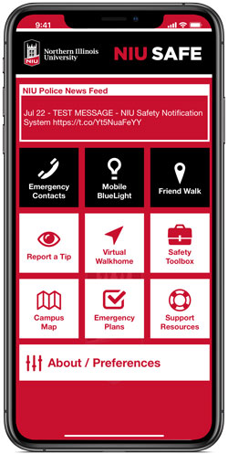 Subscribe to Safety Notifications - NIU - Emergency Information