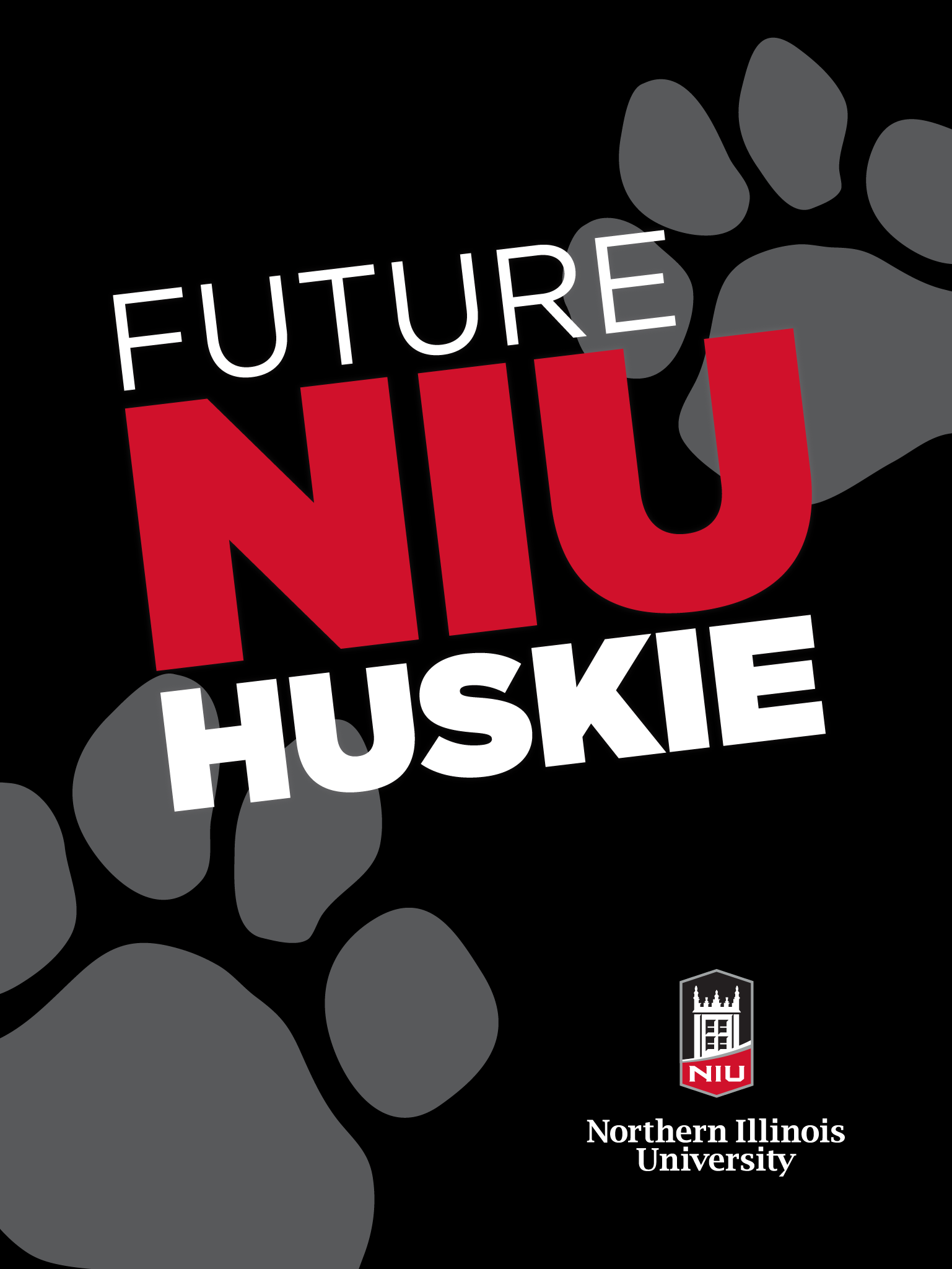 Future Huskie - Black for iPad