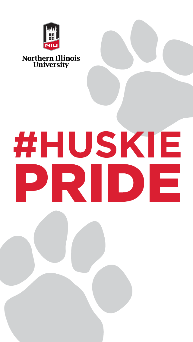 Huskie Pride - white for iphone